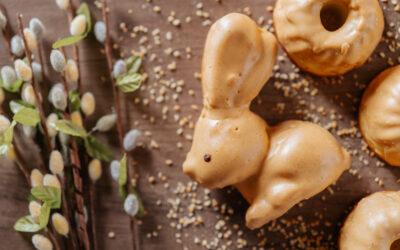 Wielkanocne ciacha bez  cukru polecają się na stoły